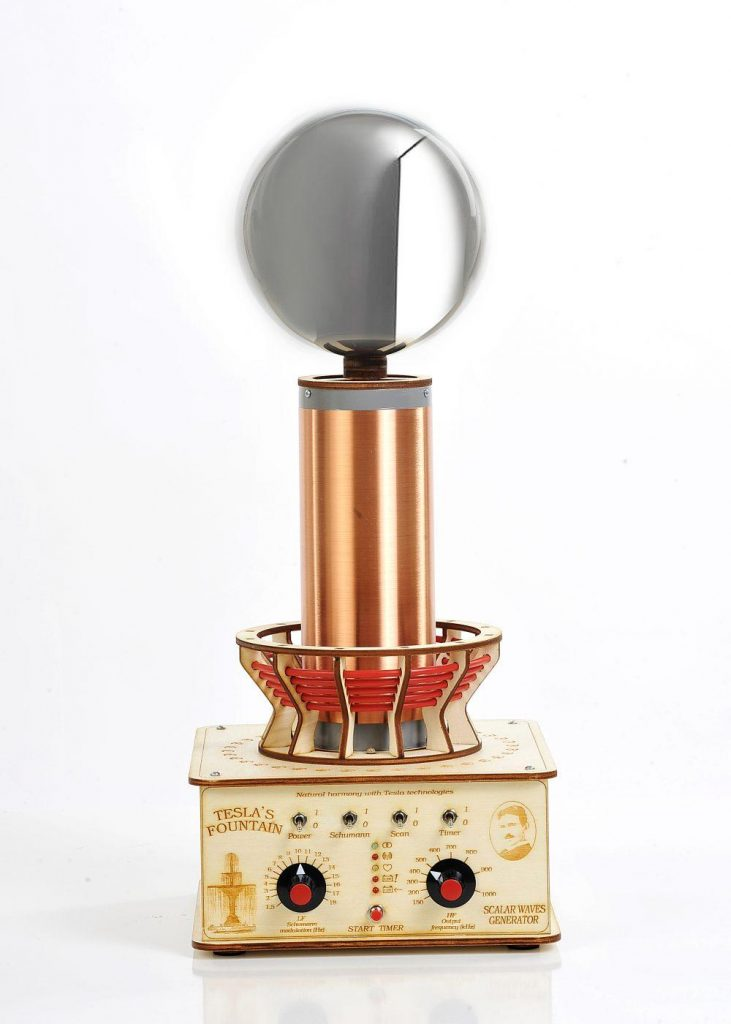 Teslov generator Profesionalna Teslova fontana