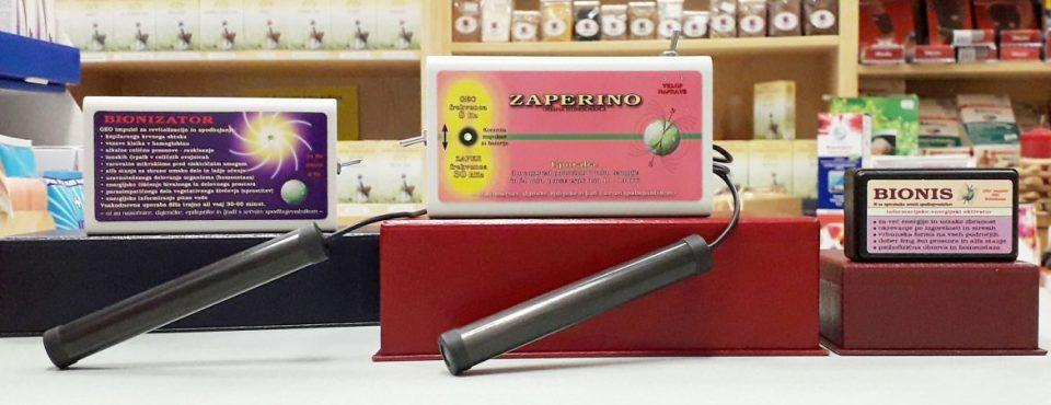 Zaper-Zaperino, Bionis in Bionizator v MEDIKA Maribor medicinski trgovini