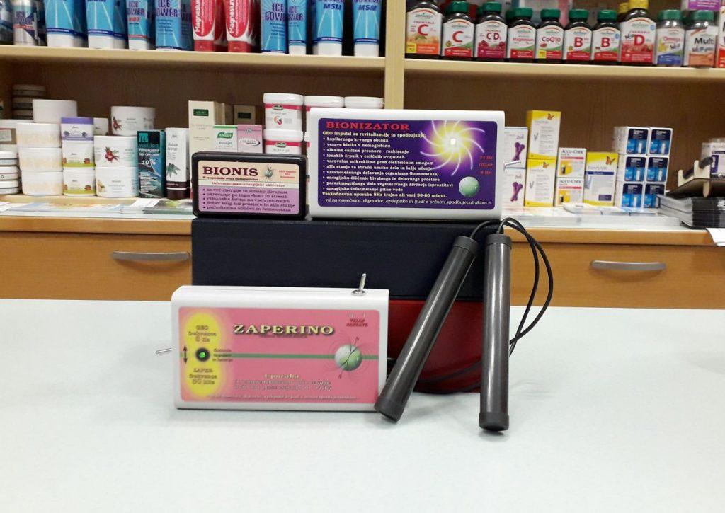 Medika Maribor - Zaper Zaperino, Bionis in Bionizator frekvencna terapija