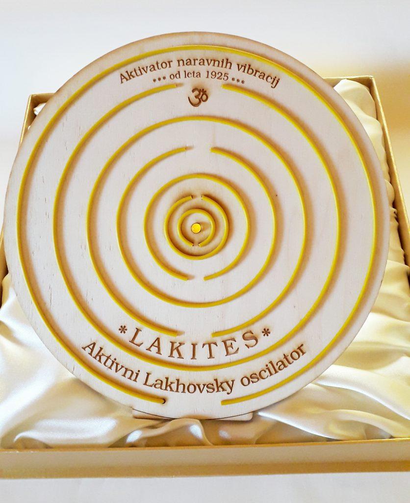 Dr. Lakhovsky vecvalovni oscilator LAKITES Vibracijsko samozdravljenje