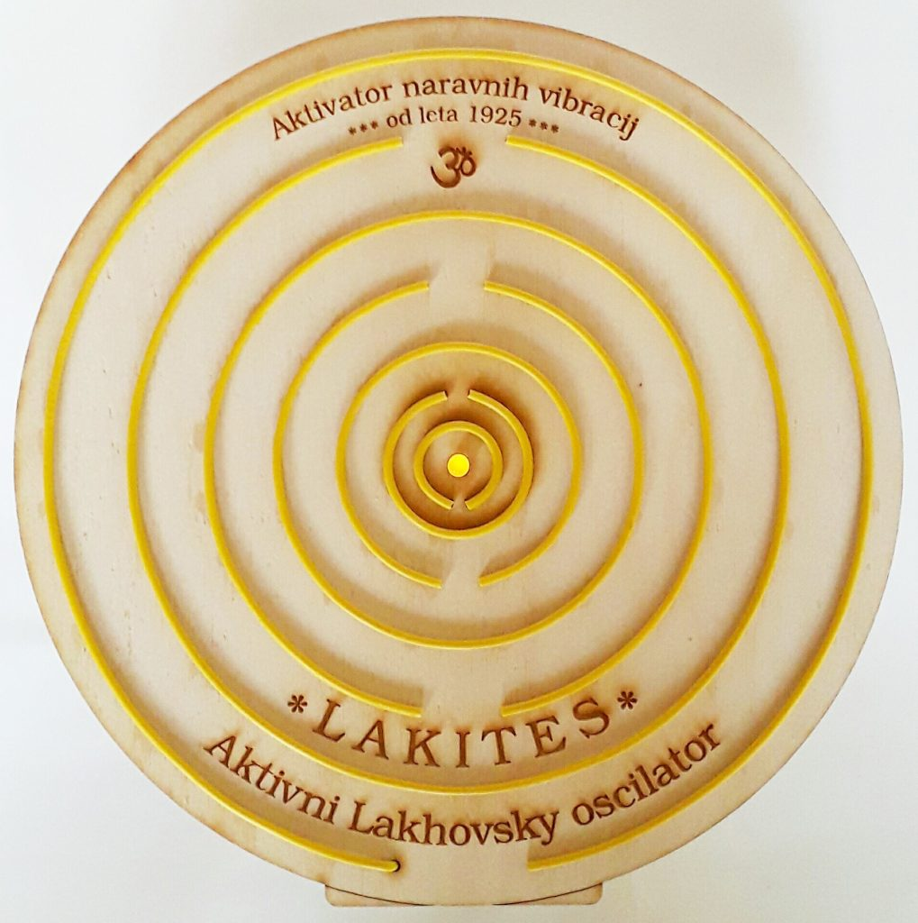 LAKITES je vecvalovni oscilator po dr. Lakhovskem