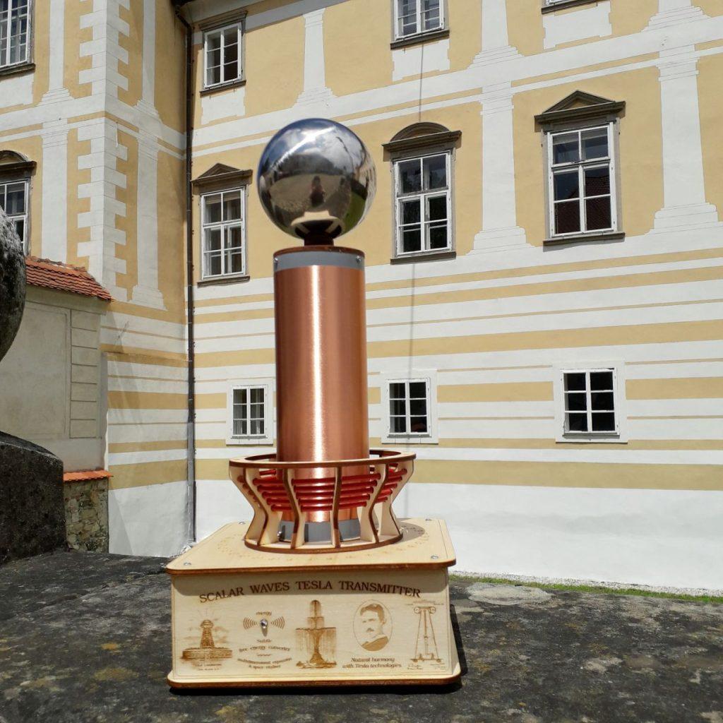 Sergej Rupreht - Teslov generator - Baterijska Teslova fontana