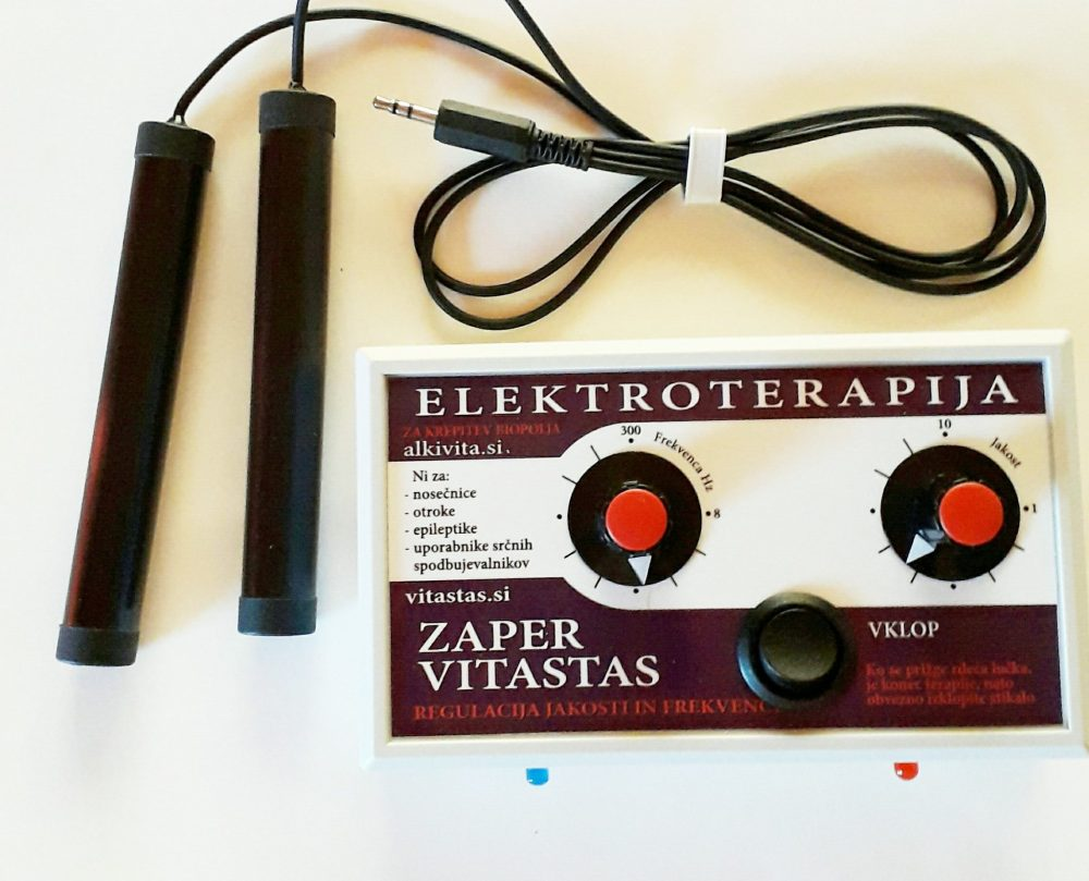 Elektroterapija Zaper Vitastas bioelektricni impulzi