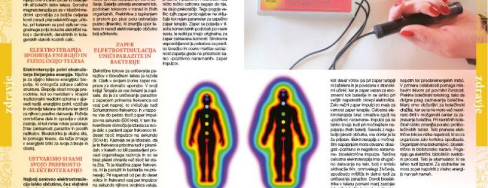 Zaper in elektroterapija